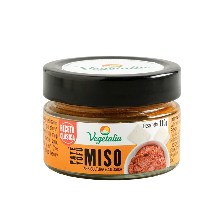 Paté Vegetal de Tofu y Miso Bio 110g
