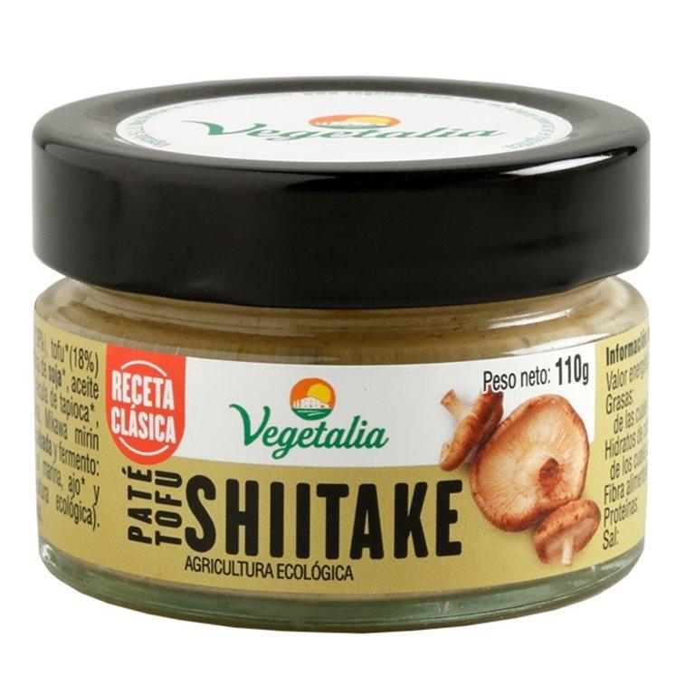 Paté Vegetal de Tofu y Shiitake Bio 110g
