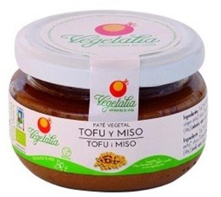 Paté Vegetal Tofu y Miso Bio 110g, 1 ud