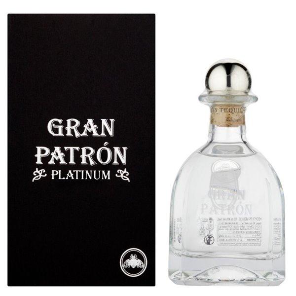 PATRON GRAN PLATINUM 0,70 L.