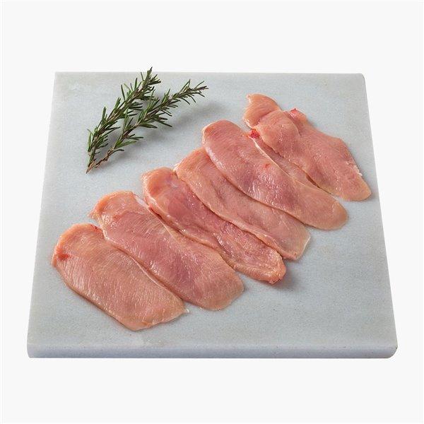 Pechuga de pollo en filetes