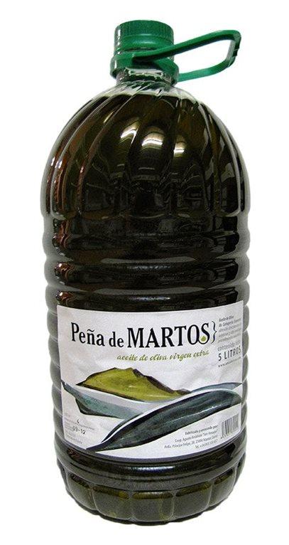 Peña de Martos. Aceite de oliva Picual. 5 Litros., 1 ud