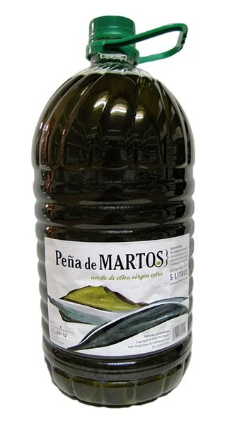 Peña de Martos. Aceite de oliva Picual. 5 Litros.