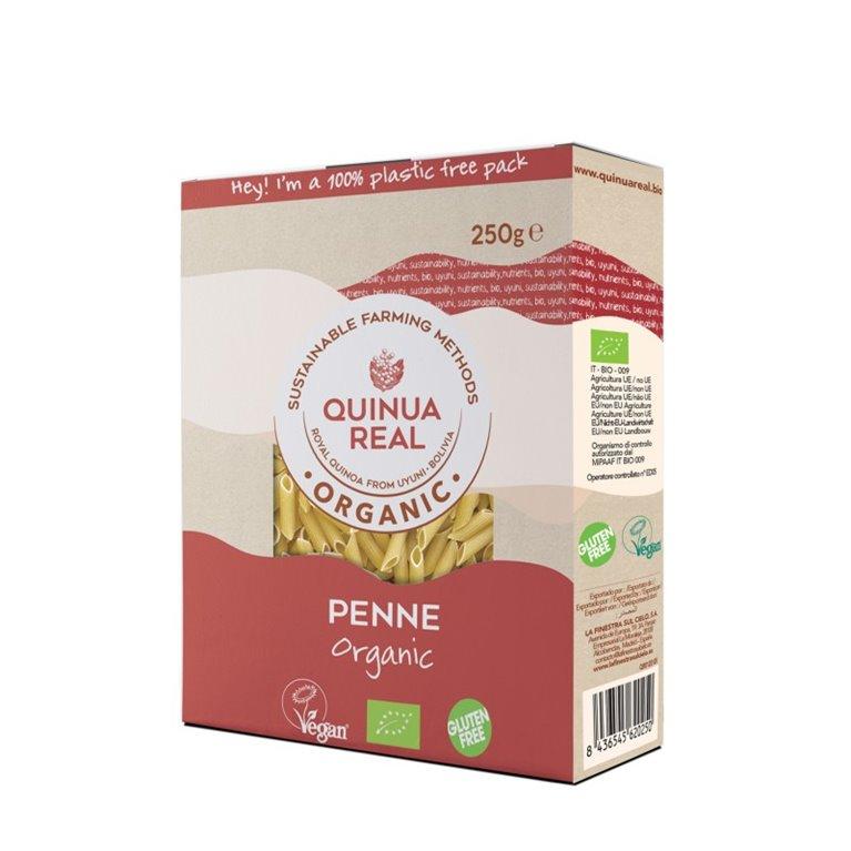 Penne de Arroz y Quinoa Real Sin Gluten Bio 250g