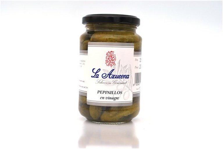 Pepinillos en Vinagre La Azucena. Tarro de 240g