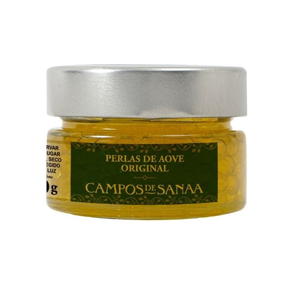 Perlas de Aceite de Oliva Virgen Extra Campos de Sanaa