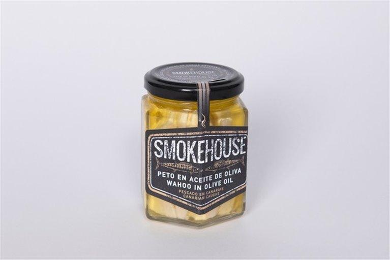 Olive oil bib. Smokehouse La Gomera.