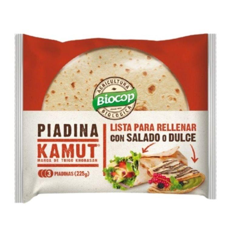 Piadina de TRIGO khorasan KAMUT® Bio 225g
