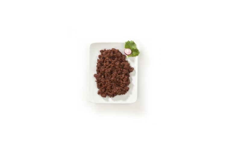 Minced black pudding