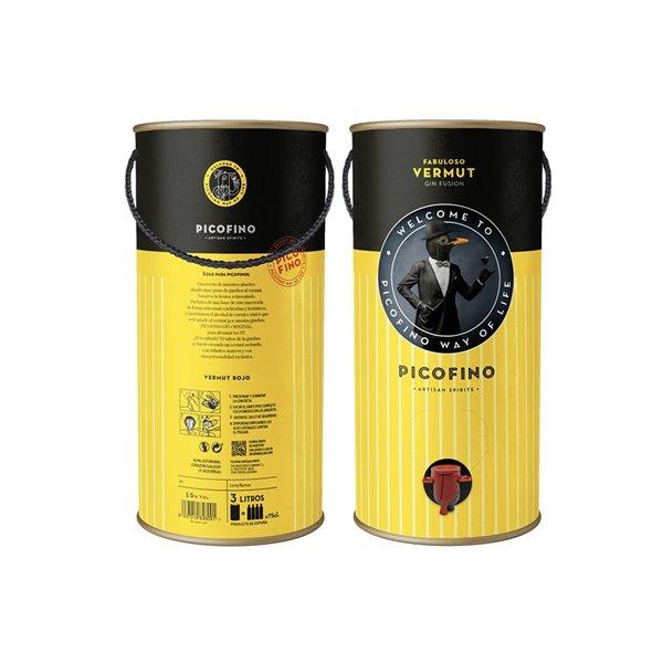 Picofino Fabuloso Vermut Gin Fusión Doble Magnum (3L) 15%vol