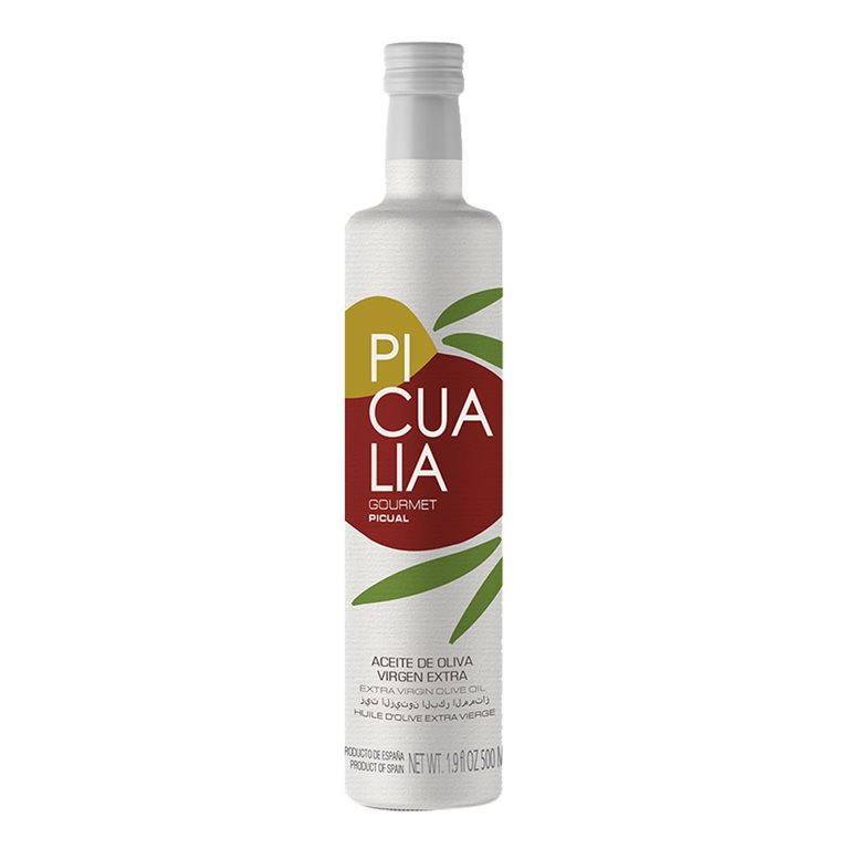 Picualia - Gourmet - Picual - 12 Botellas 500 ml