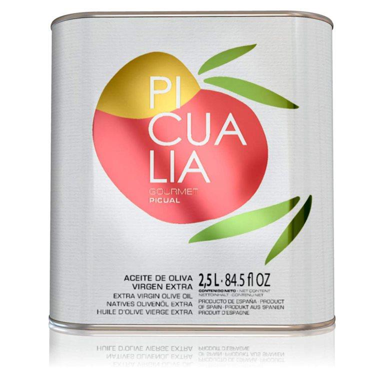 Picualia - Gourmet - Picual - 4 Latas 2.5 L