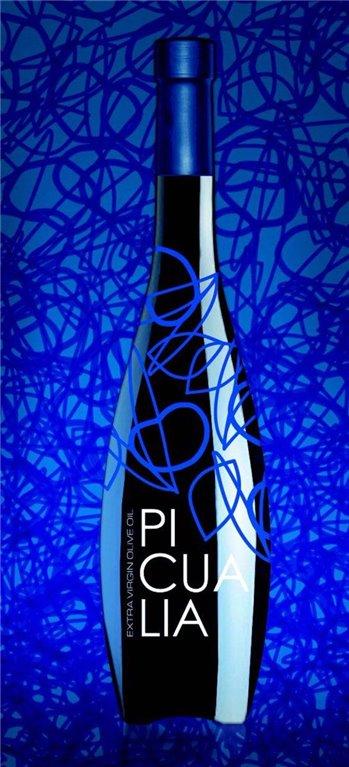 Picualia premium. Aceite de oliva Picual. Botella 500 ML.