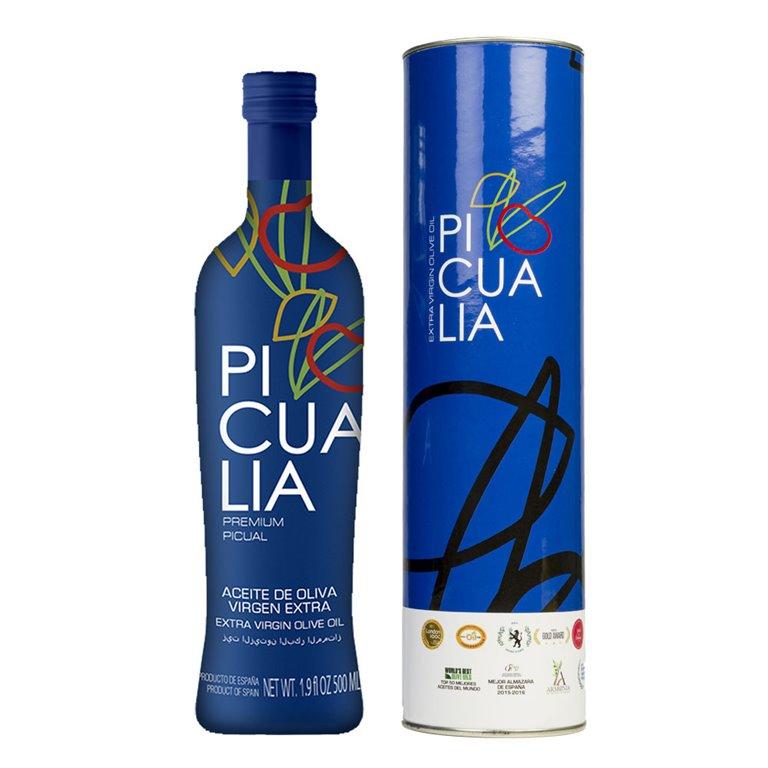 Picualia - Premium - Picual - Estuche Botella 500 ml