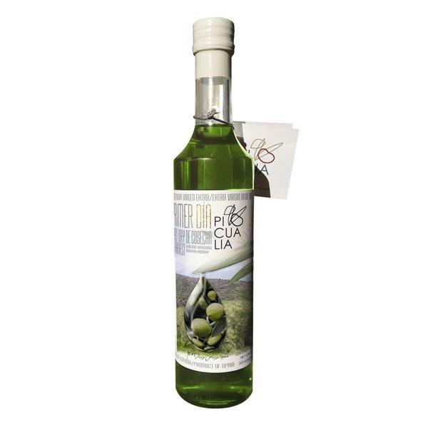 Picualia - Primer día de cosecha - Picual - Edición Limitada - 12 Botellas 500 ml