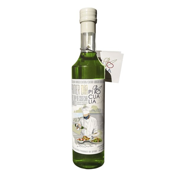 Picualia - Primer día de cosecha - Picual - Edición Limitada - Botella 500 ml