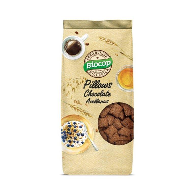 Pillows de Chocolate y Avellana Bio 300g