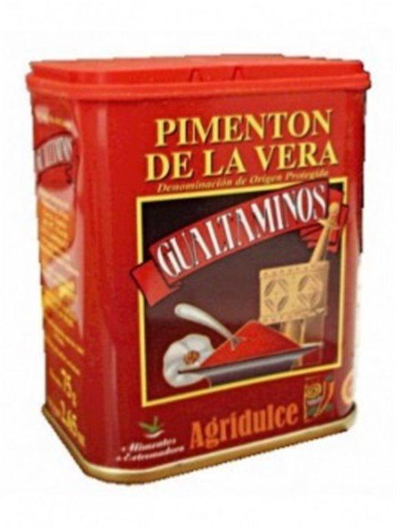 Pimentón De la Vera agridulce Gualtaminos, 1 ud