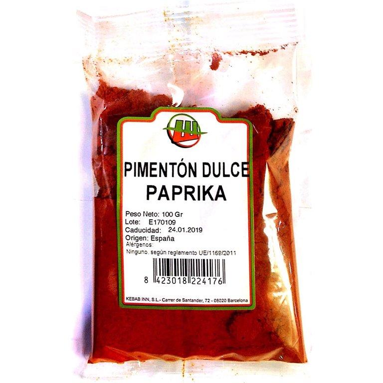 Pimentón Dulce Paprika Molido (Bote) 150g