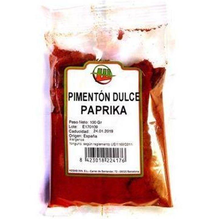 Pimentón Dulce Paprika Molido (Bote) 450g