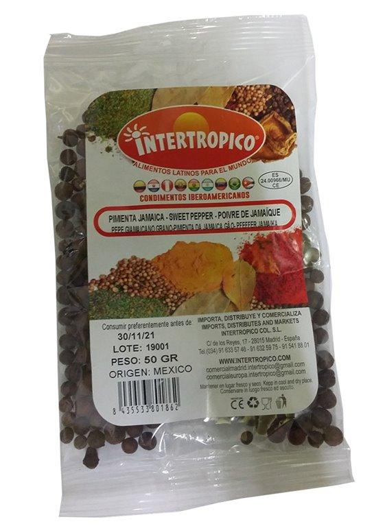 PIMIENTA JAMAICA INTERTROPICO 50 GR