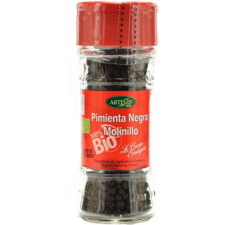 Pimienta Negra Grano Molinillo Bio 40g