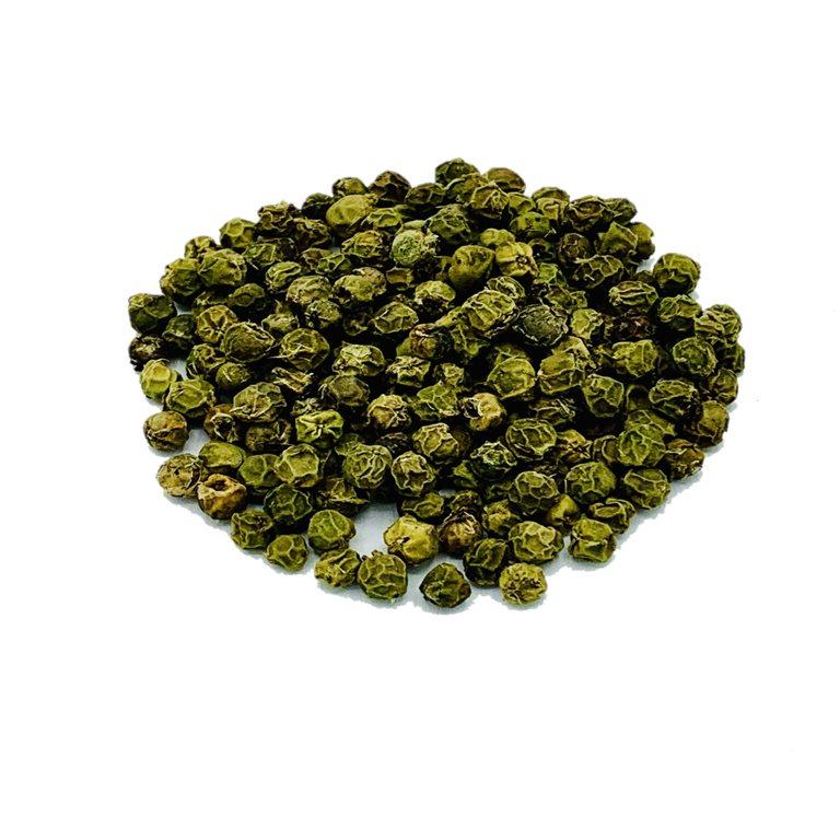 Pimienta verde en grano