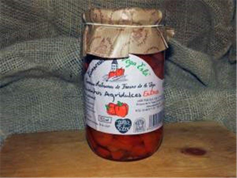 Pimiento agridulce 720 ml, artesano, 1 ud