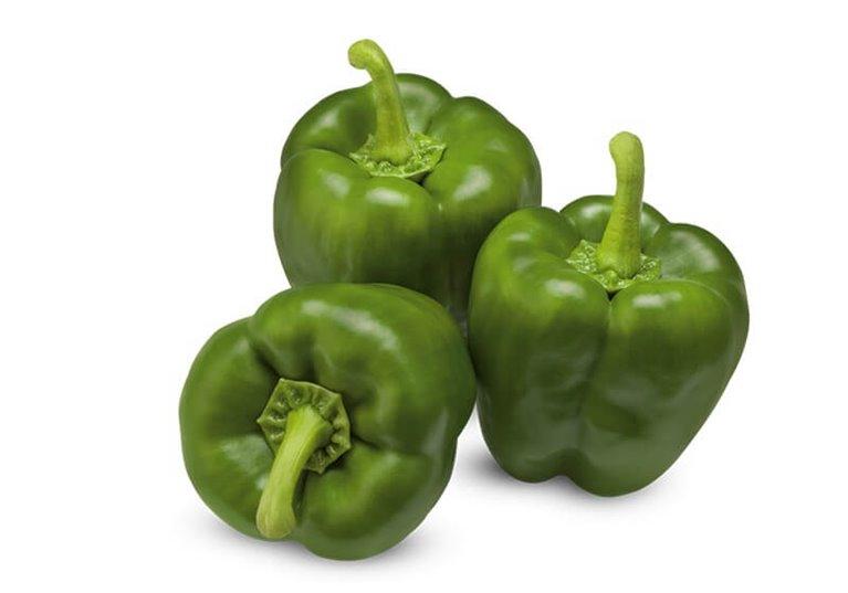 Pimiento california verde BIO - 1 kg