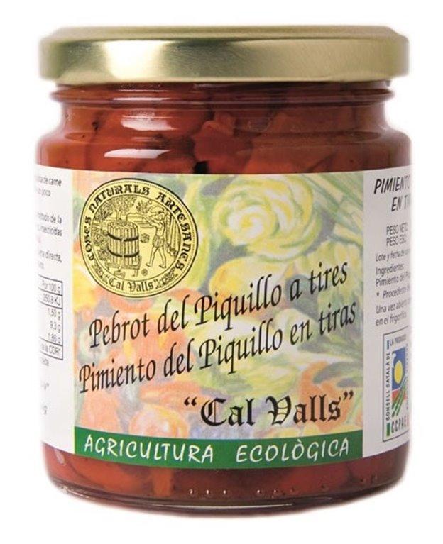 Pimiento del Piquillo en Tiras Bio 215g, 1 ud