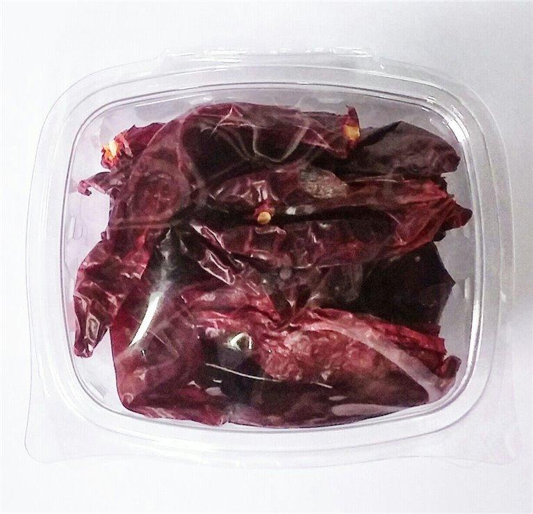 Pimiento Rojo Seco Desrabado, bandeja 50 gramos, 1 ud