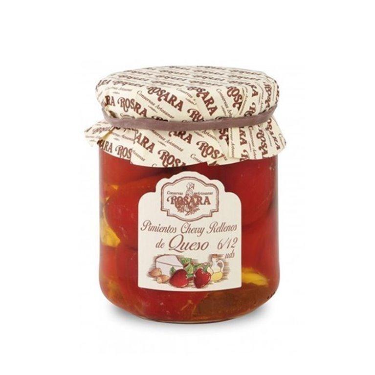 Pimientos Cherry Rellenos de Queso, 1 ud