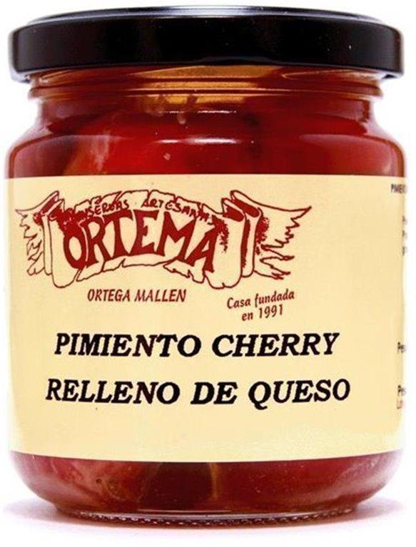Pimientos Cherry rellenos de Queso