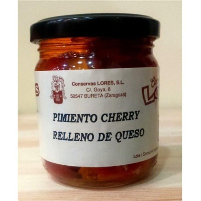 Pimientos cherry rellenos de queso Lores, 1 ud