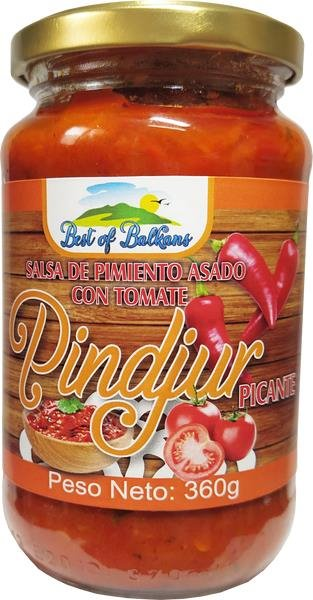 Pindjur Picante Best of Balkans 360g