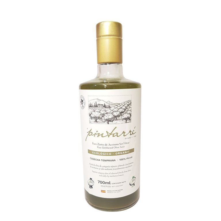 Pintarré - Ecológico - En Rama - Picual - Sin Filtrar - 6 Botellas 700 ml