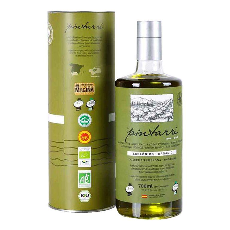 Pintarré - Ecológico - Verde - Picual - 6 Estuches Botella 700 ml