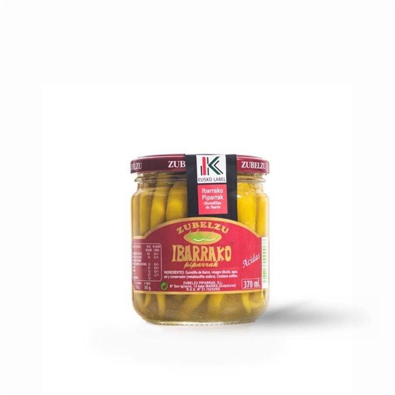 Piparra (Guindilla) de Ibarra Zubelzu 370 ml., 1 ud