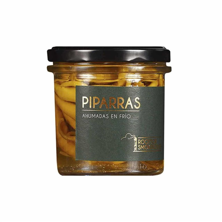 Smoked Pickled Pickled Piparras, 100g Rooftop Smokehouse