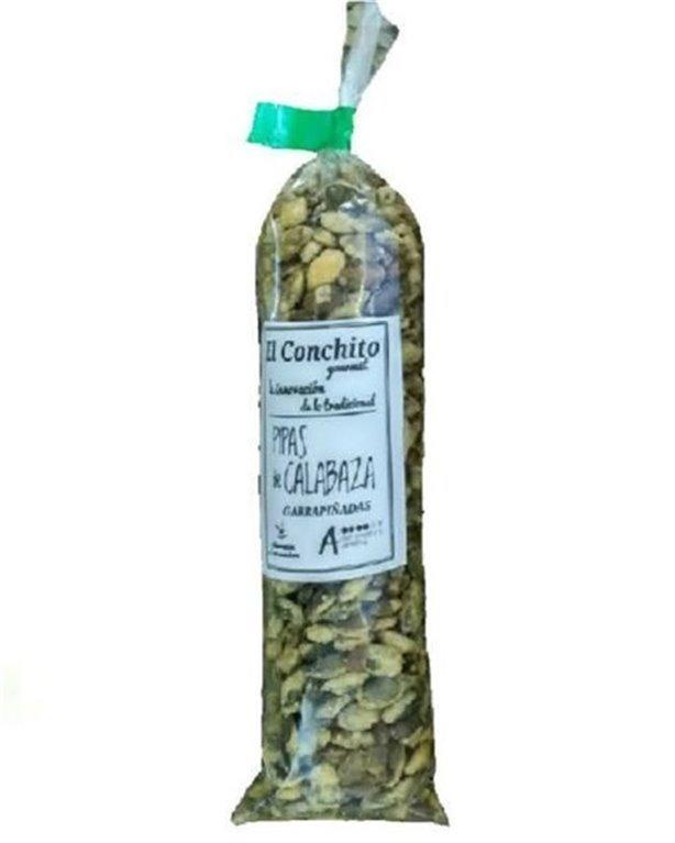 Pipas de calabaza garrapiñadas gourmet, 105 gr