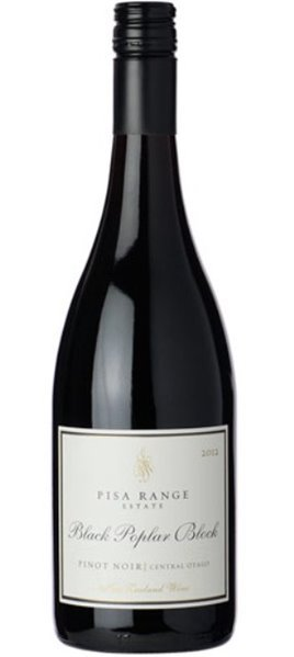 Pisa Range Estate Black Poplar Pinot Noir 2012