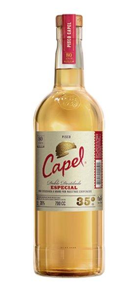 Pisco Chileno Capel 35º Especial