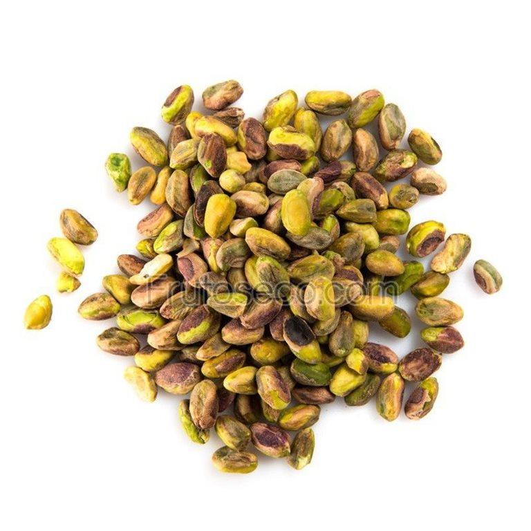 Pistachos pelados crudos naturales  (Mondado), bolsa 250 gramos. ( especial para elaborar leche vegetal ), 1 ud