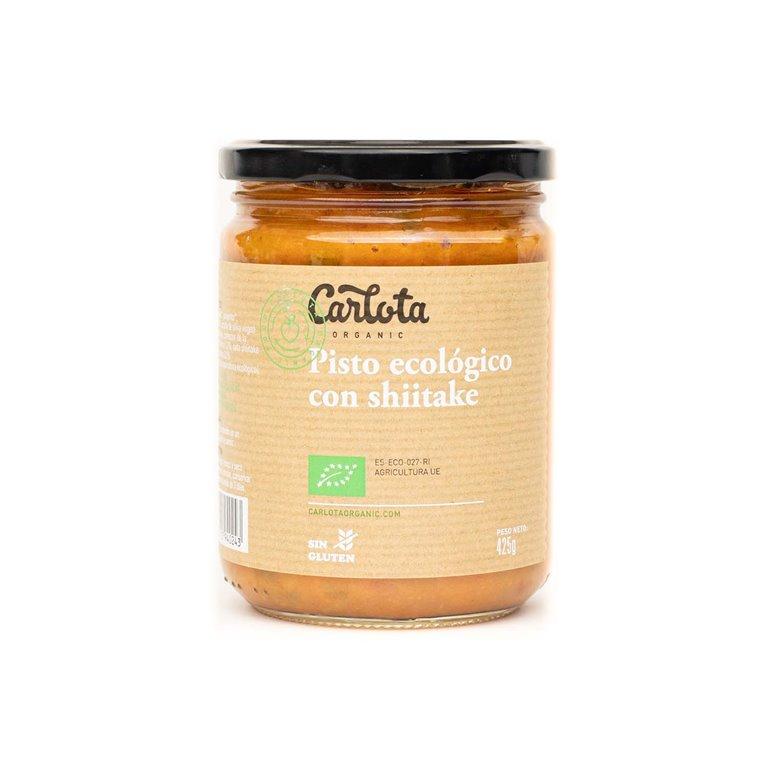 Organic ratatouille with shiitake 425g