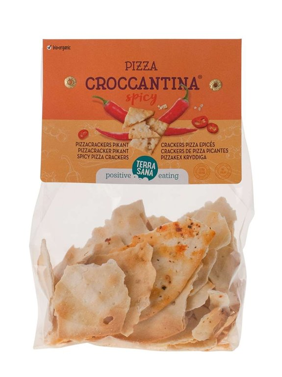 Pizza Croccantina Picante Vegano, 1 ud