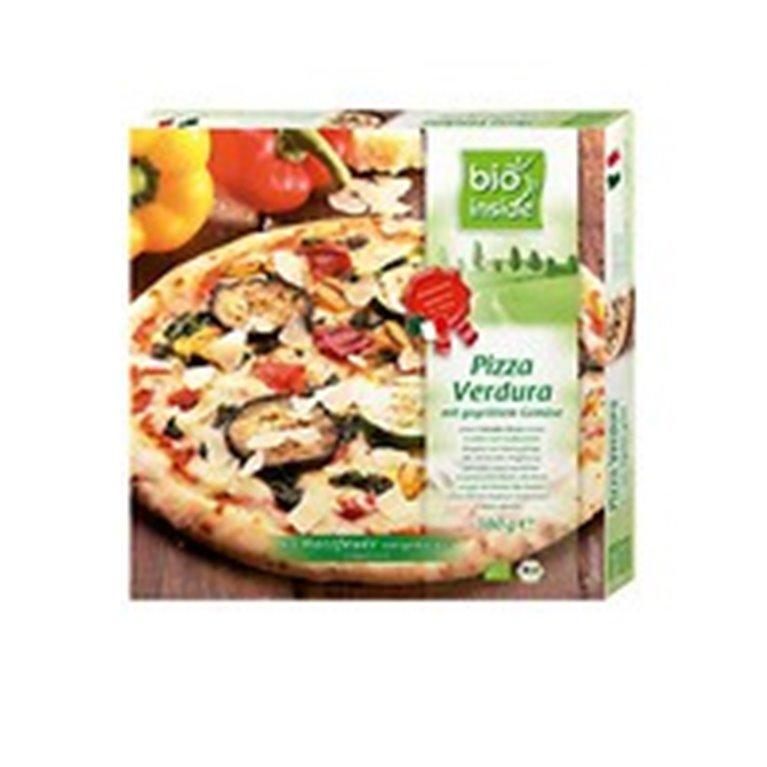 Pizza de verduras congelada, 380 gr