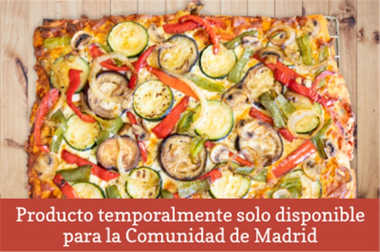 Pizza natural delahuertacasa (850gr aprox)