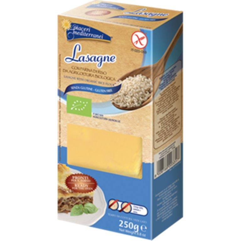 Lasaña de Maíz y Arroz Sin Gluten Bio 250g, 1 ud