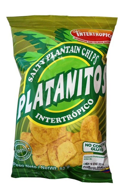 PLATANITOS INTERTROPICO 85GR