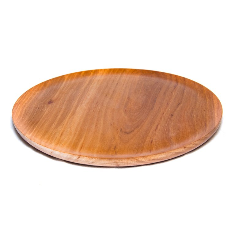 Plato madera fino